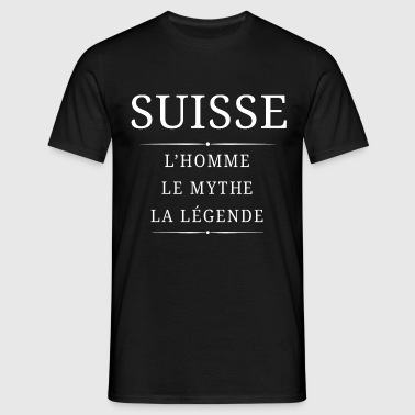 Suisse Homme Mythe - T-shirt Homme