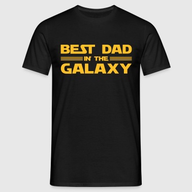 Best Dad In The Galaxy - Men's T-Shirt