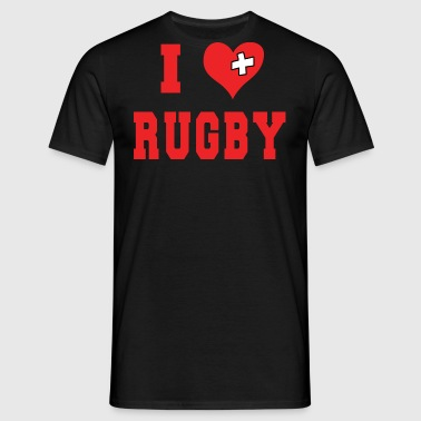 I Love Rugby Football - Men's T-Shirt