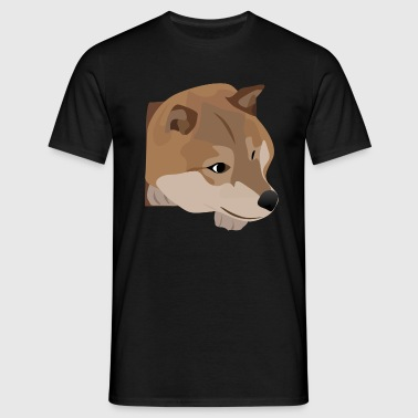 Curious dog - Men's T-Shirt