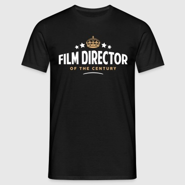 film director of the century funny crown - Men's T-Shirt