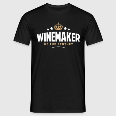 winemaker of the century funny crown sta - Men's T-Shirt