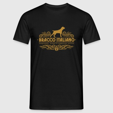 bracco_italiano_ornamental - Men's T-Shirt