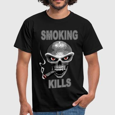 smoking kills - fumer tue - Männer T-Shirt