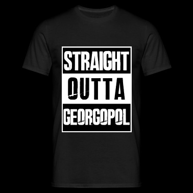 Straight outta Georgopol - PUBG Battleground - Männer T-Shirt
