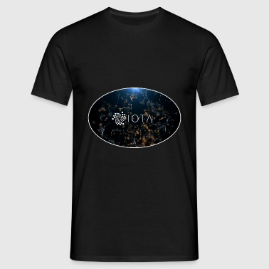 IOTA Tangle Oval - Männer T-Shirt