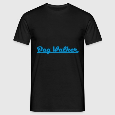2541614 15055895 dogwalker - Men's T-Shirt