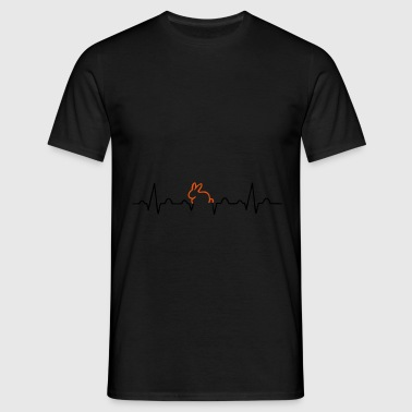 lapin ECG - T-shirt Homme