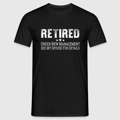 Pensioneret shirt pension pensionering gave - Herre-T-shirt