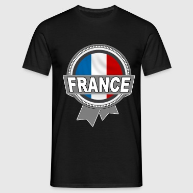 france logo rond 02 - T-shirt Homme