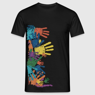 HANDS OF TOUCH - Männer T-Shirt