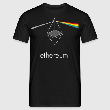 ethereum prisma crypto coin currency pc internet ne - Men's T-Shirt