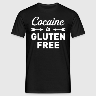Cocaine is Gluten Free - Men's T-Shirt