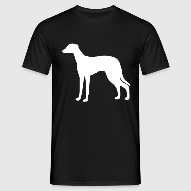 Greyhound Dog - Men's T-Shirt