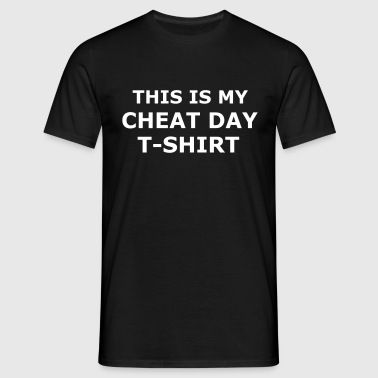 Cheat Day T-Shirt - Gym - Fitness - Diet - Men's T-Shirt