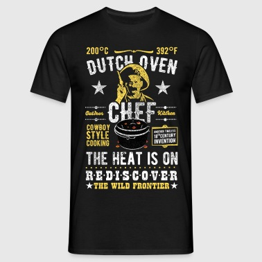 Dutch Oven, Outlaw, distressed - Mannen T-shirt