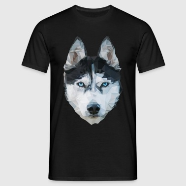 The Husky - Männer T-Shirt
