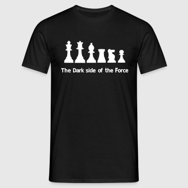The Dark Side of the Force - Männer T-Shirt