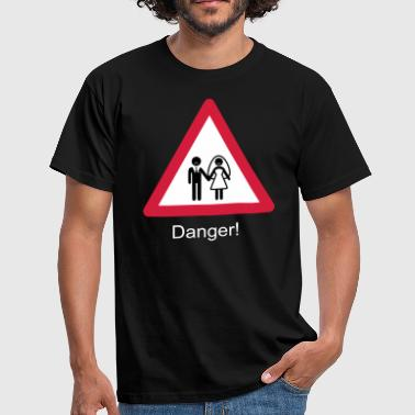 Danger Wedding - Camiseta hombre