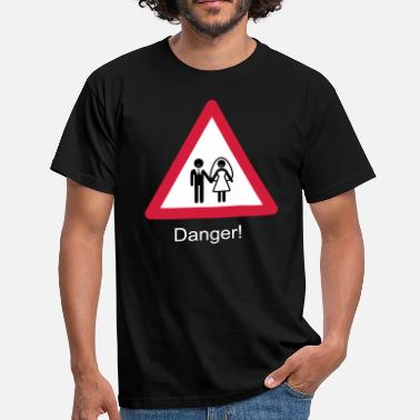 Wedding Danger Wedding - Camiseta hombre