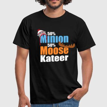 50% Minion 50% MooseKateer - Men's T-Shirt