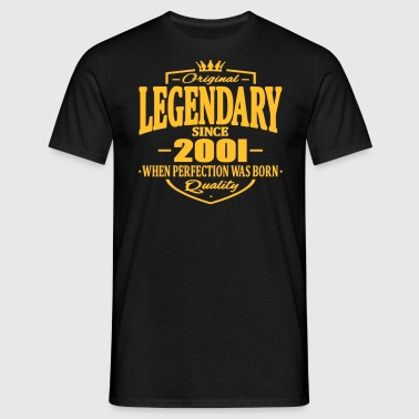 Legendary sinds 2001 - Mannen T-shirt