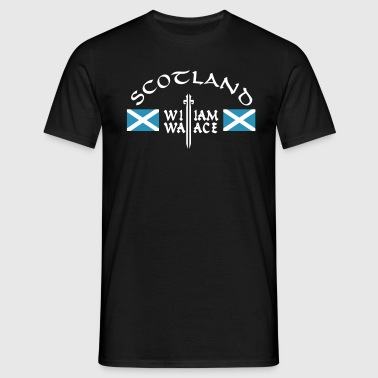 Scotland William Wallace - Männer T-Shirt