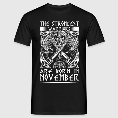 November - Viking - birthday - EN - Men's T-Shirt