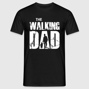 The Walking Dad - Mannen T-shirt