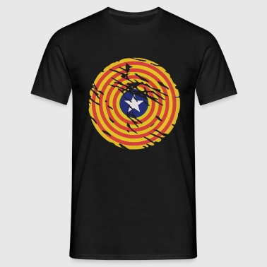 Catalonia Independence Symbol - Vintage Edition - Männer T-Shirt