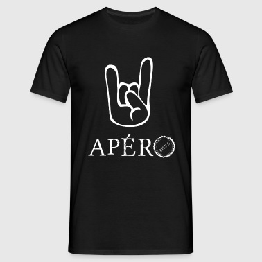 rock and apéro - T-shirt Homme