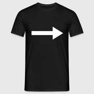 Right Arrow - Men's T-Shirt