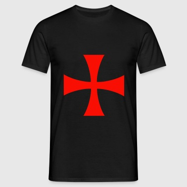 Assassin Creed Templar Cross - T-skjorte for menn