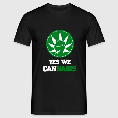 Yes we cannabis - T-shirt Homme