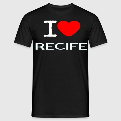 I LOVE RECIFE - Männer T-Shirt
