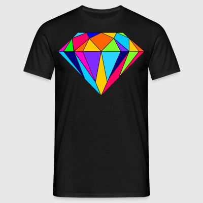 diamant coloré - T-shirt Homme