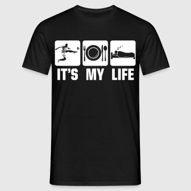 Football is my life - Men's T-Shirt