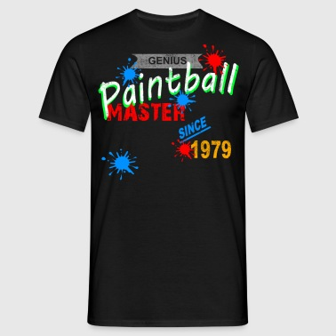 Paintball Master Splash - Mannen T-shirt