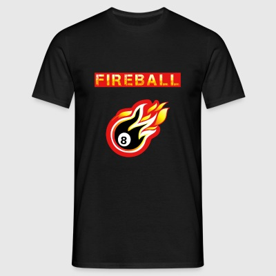 Fireball - Herre-T-shirt