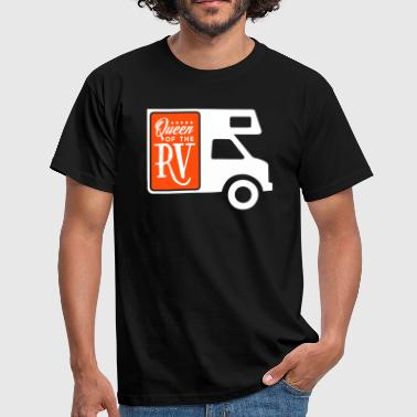Camping: queen of the rv - Men's T-Shirt