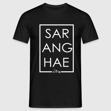 SARANGHAE KOREAN - Men's T-Shirt