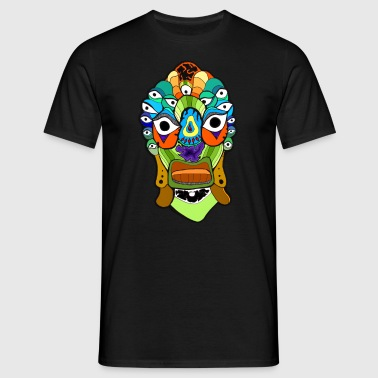 Psychedelic Frogface - Männer T-Shirt