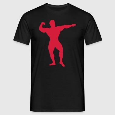 bodybuilder - T-shirt Homme