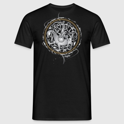 Viking Hawk - Herre-T-shirt