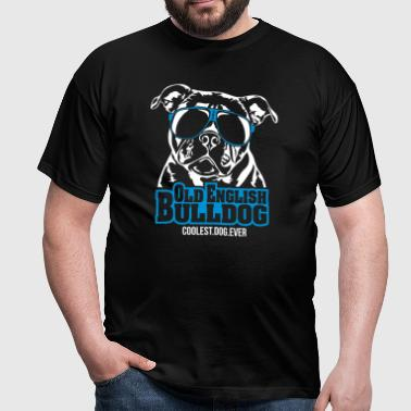 OLD ENGLISH BULLDOG coolest dog - Männer T-Shirt