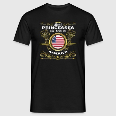 PRINCESS PRINCESS QUEEN BORN UNITED STATES AME - Men's T-Shirt