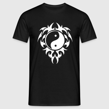 tribal_ying_yang_6 - T-shirt Homme