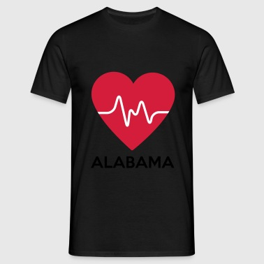 heart Alabama - Men's T-Shirt