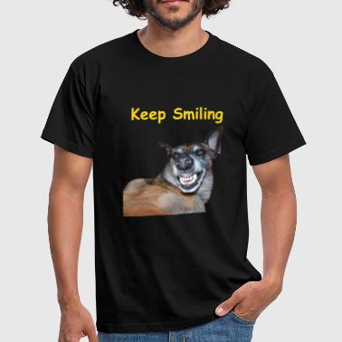 Mordant Keep Smilling - T-shirt Homme
