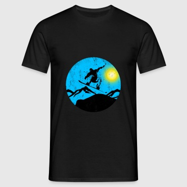Snowboarder jump - Men's T-Shirt